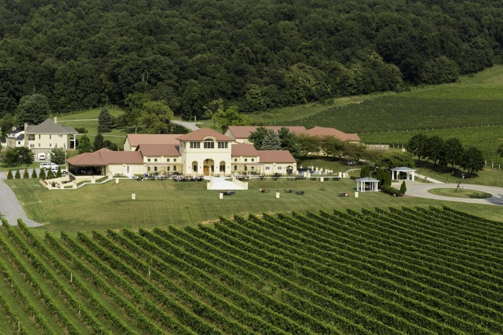 Breaux vineyards Purcellville Virginia