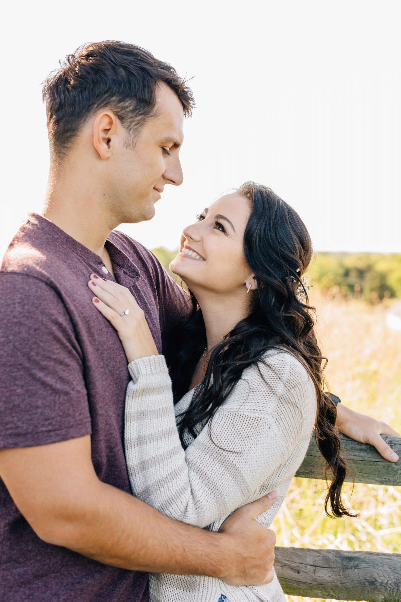 engaged couple engagement photos 18
